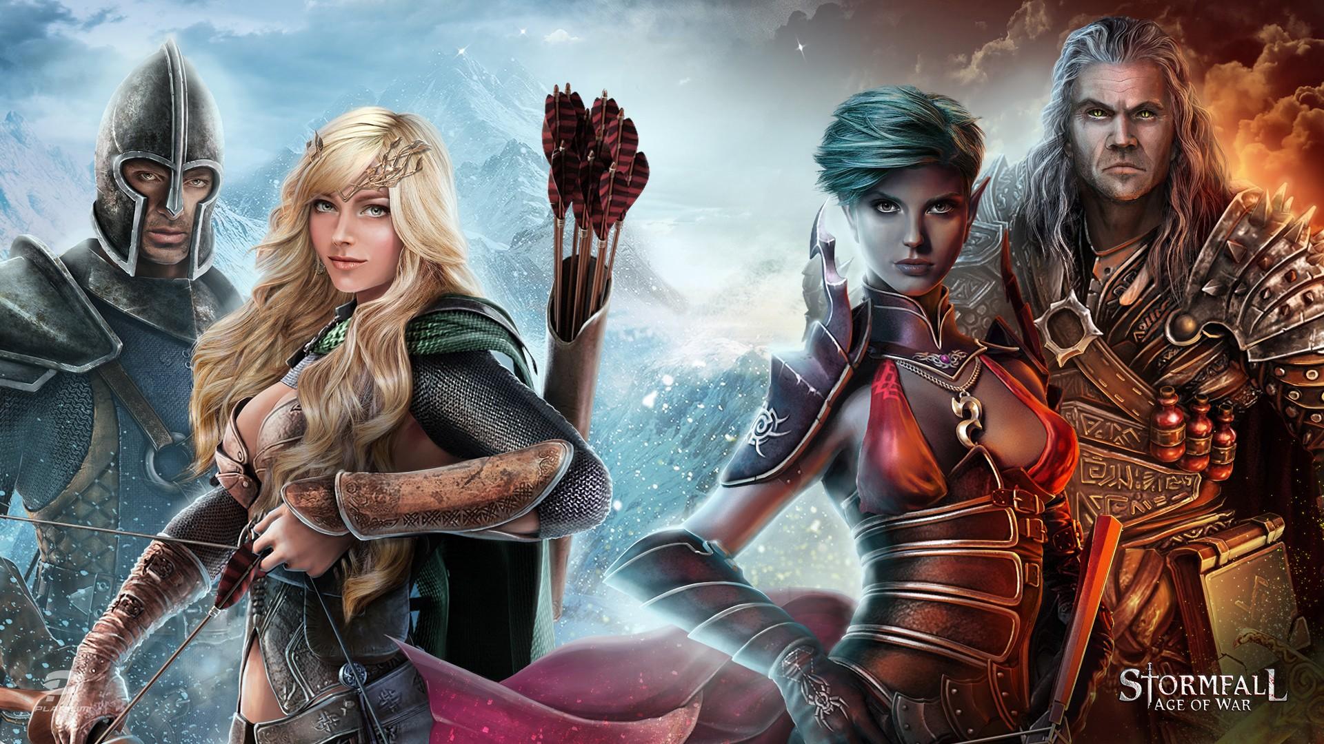 Stormfall : Rise Of War un Moba qui a la classe !