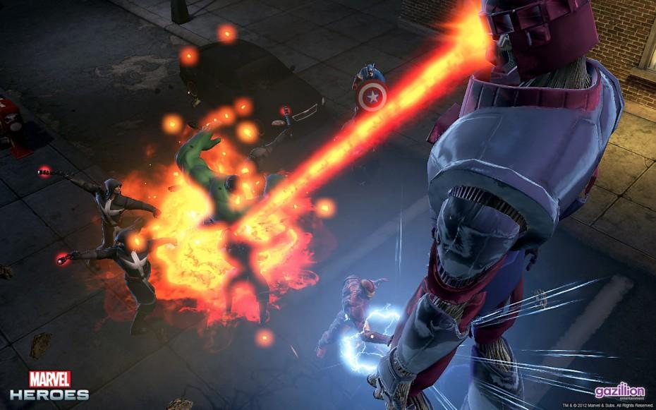 Des phases de combat prenantes : Marvel 2015