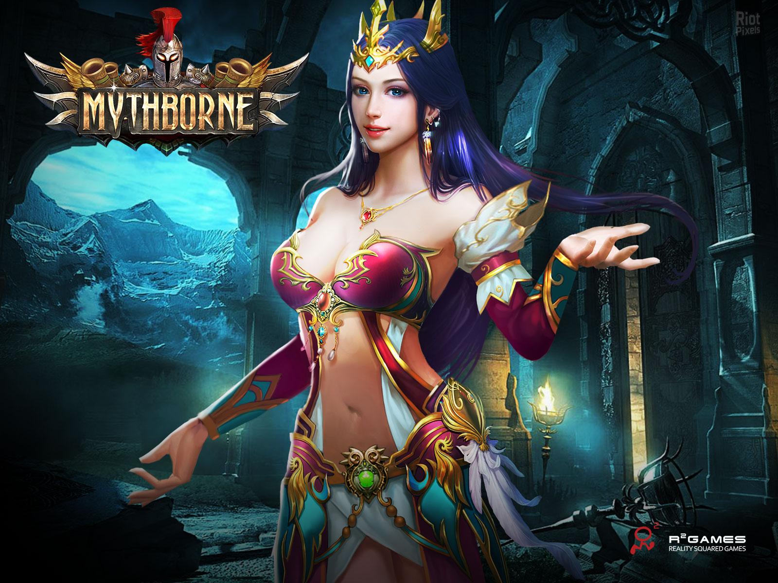 Les déesses grecques de Mythborne
