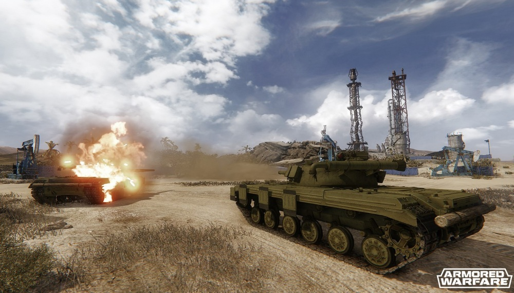 Combats de tanks